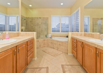 11 His and Hers Master Bathroom