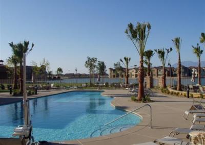 24 community lake and pool
