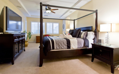 9 Spacious and Relaxed Master Bedroom